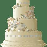 Imagem de Bolos – Bolo Decorado Casamento 2 PNG
