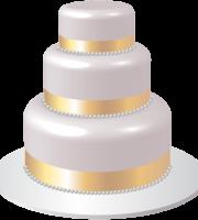 Imagem de Bolos - Bolo Decorado Casamento 3 PNG