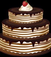 Imagem de Bolos - Bolo de Chocolate 2 PNG