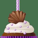 Imagem de Bolos – Cupcake de Aniversário 2 PNG