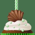 Imagem de Bolos – Cupcake de Aniversário 3 PNG