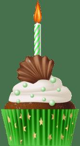 Imagem de Bolos - Cupcake de Aniversário 3 PNG