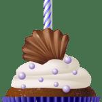 Imagem de Bolos – Cupcake de Aniversário 4 PNG