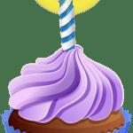 Imagem de Bolos – Cupcake de Aniversário 5 PNG