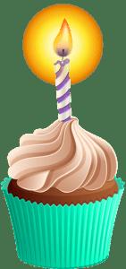 Imagem de Bolos - Cupcake de Aniversário 6 PNG