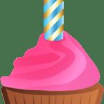 Imagem de Bolos – Cupcake de Aniversário PNG