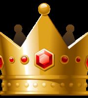 Imagem de Coroas - Coroa Dourada com Pedra Vermelha 3