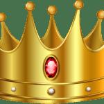 Imagem de Coroas – Coroa Dourada com Pedra Vermelha 4