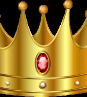 Imagem de Coroas - Coroa Dourada com Pedra Vermelha 4