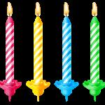 Imagem de Festa – Vela de Aniversário 3 PNG