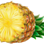 Imagem de Frutas – Abacaxi 4 PNG