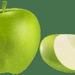 Imagem de Frutas – Maçã Verde 2 PNG