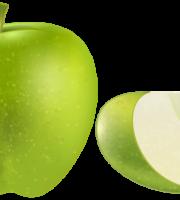 Imagem de Frutas - Maçã Verde 2 PNG