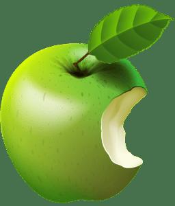 Imagem de Frutas - Maçã Verde 4 PNG