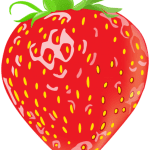 Imagem de Frutas – Morango 3 PNG
