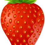 Imagem de Frutas – Morango 6 PNG