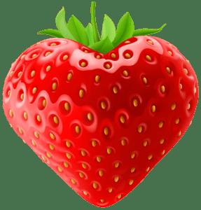 Imagem de Frutas - Morango 7 PNG