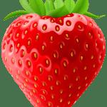 Imagem de Frutas – Morango 8 PNG