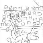 Desenhos Infantis para colorir do Bolt
