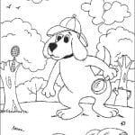 Desenhos Infantis para colorir do Clifford
