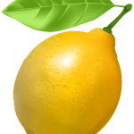Imagem de Frutas – Limão Siciliano 2 PNG