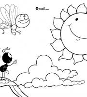 Desenhos Infantil para Colorir Smilinguido