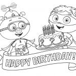 Desenhos Infantis para colorir Super Why