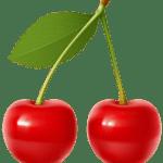 Imagem de Frutas – Cereja 4 PNG