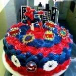 Bolo de Aniversário Homem Aranha 10