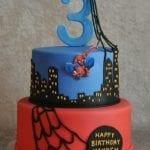 Bolo de Aniversário Homem Aranha 6
