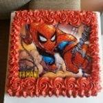 Bolo de Aniversário Homem Aranha 4