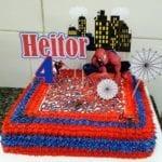 Bolo de Aniversário Homem Aranha 5