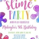 Convite Festa Slime 3