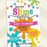 Convite Festa Slime 5