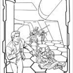 Desenhos do Tron para Colorir Pintar e Imprimir