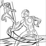 Desenhos para Colorir e Imprimir do Tron