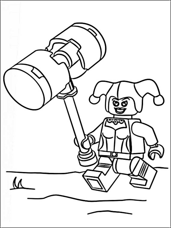 Desenhos Para Colorir E Imprimir Do Lego Batman