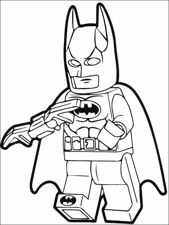 Desenhos De Lego Batman Para Colorir E Imprimir