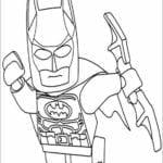 DESENHOS PARA PINTAR E IMPRIMIR DO LEGO BATMAN