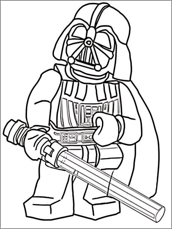 Lego Star Wars Desenhos Para Colorir Pintar E Imprimir Do Star
