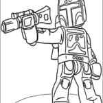 Desenhos para colorir e Imprimir Star Wars Lego
