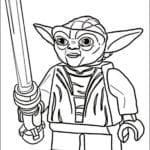 desenhos para colorir star wars personagens lego