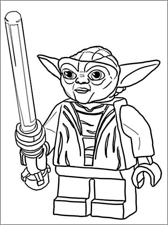 Desenhos De Lego Star Wars Para Colorir E Imprimir