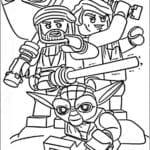 IMAGEM DE LEGO STAR WARS PARA COLORIR E IMPRIMIR