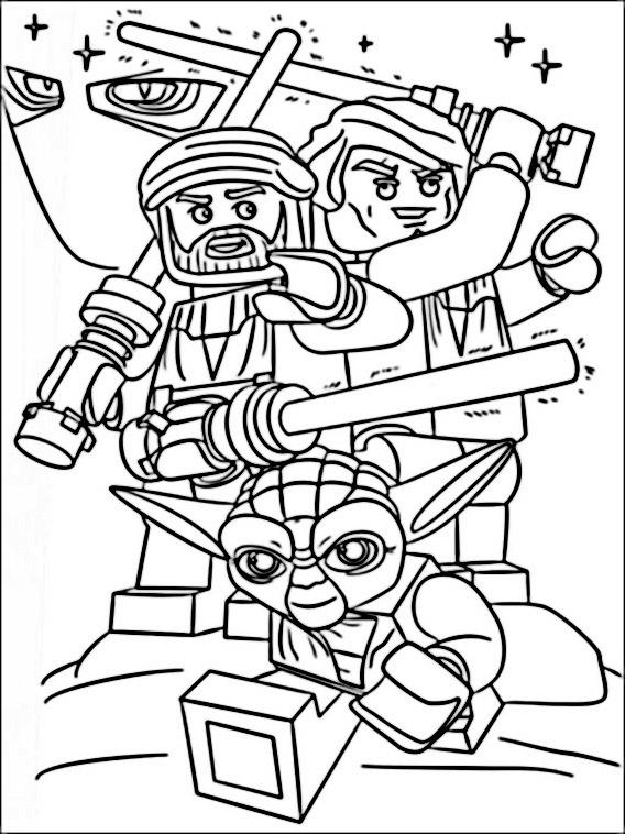 Star Wars Desenhos Para Colorir Pintar E Imprimir Do Star Wars