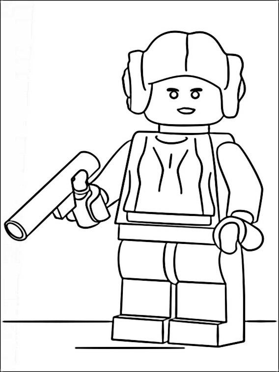 Lego Star Wars Desenhos Para Colorir Pintar E Imprimir Do Star Wars