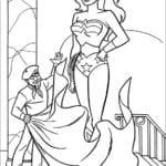 Desenhos para Pintar da Mulher Maravilha