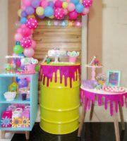 Decoração Festa Infantil Slime