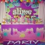 Decoração Festa Slime. Dicas de decorações incríveis para o tema do momento!