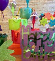 Decoração Festa Slime